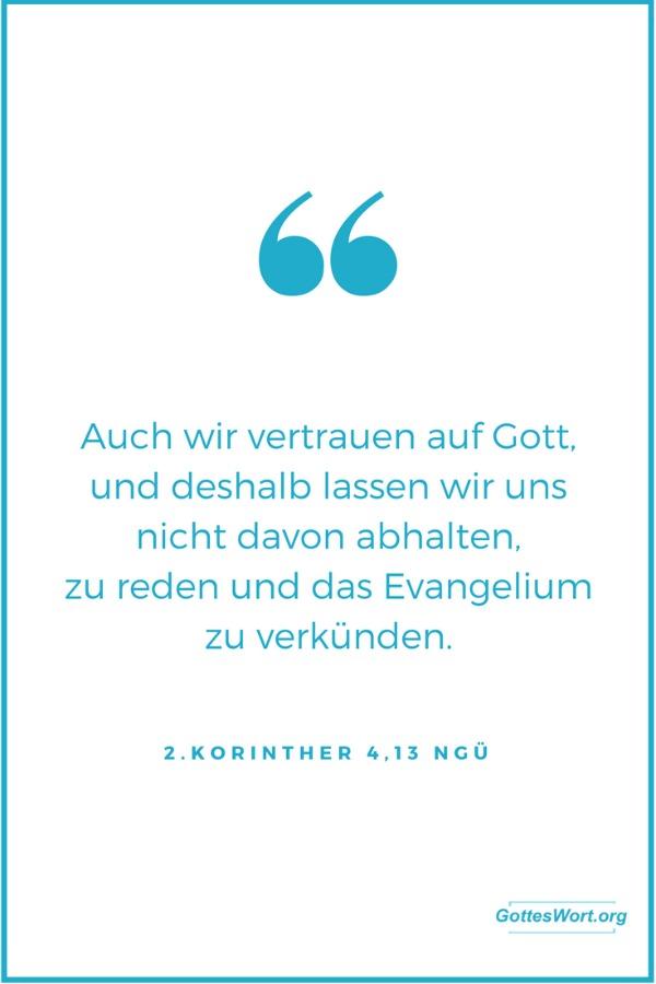 2.Korinther 4,13