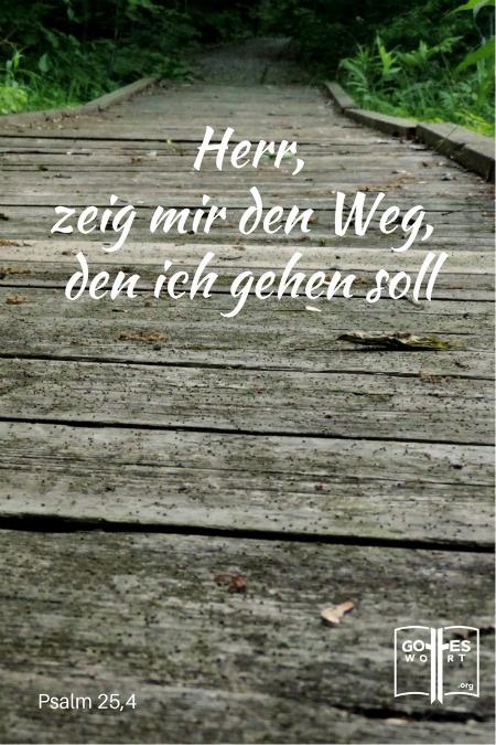 ✚ Der Weg, die Wahrheit, und das Leben: Herr, zeig mir den Weg den ich gehen soll. Psalm 25,4  Lese: https://www.gottes-wort.com/weg.html #weg #wahrheit #leben