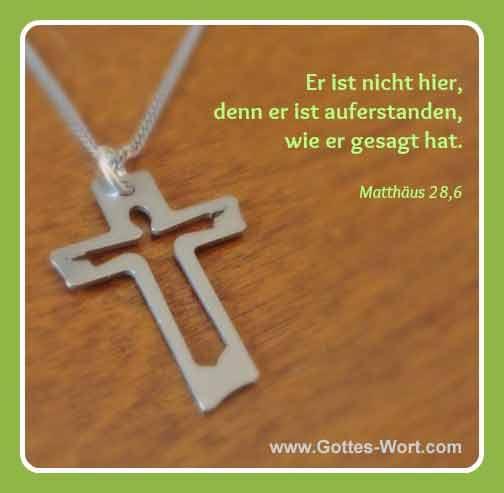 Kreuz Matthäus 28,6
