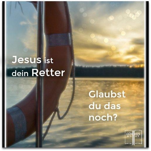 Die Gnade Gottes ist notwendig um das endgültige Urteil abzuwenden. Jesus sagte wer auf ihn vertraut wird leben.  #retter #rettung #ewigesleben lese www.gottes-wort.com/rettung-verlieren.html