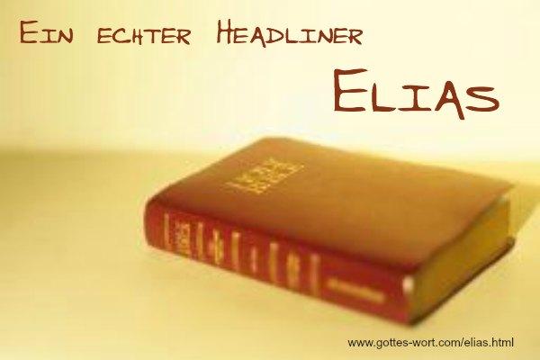 In der Gleichnis des Elias