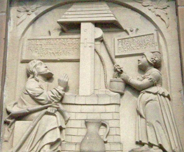 Jesus am Brunnen - Heilbronn, Baden-Württemberg