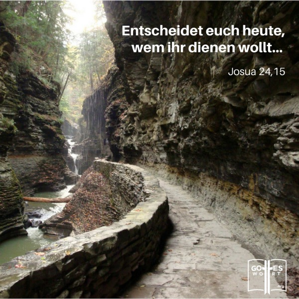 Kreuzweg: Entscheidet euch heute, wem ihr dienen wollt! Josua 24,15 Lese: http://www.gottes-wort.com/kreuzweg.html