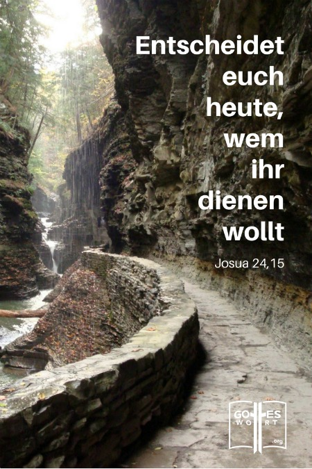 Kreuzweg: Entscheidet euch heute, wem ihr dienen wollt! Josua 24,15 Lese: https://www.gottes-wort.com/kreuzweg.html