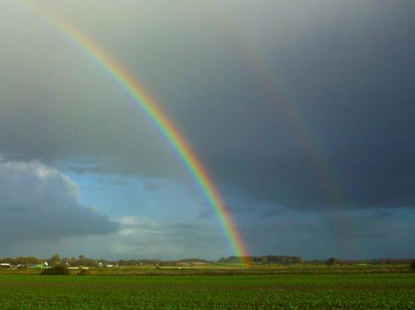 Regenbogen - Bordelum, Nordfriesland