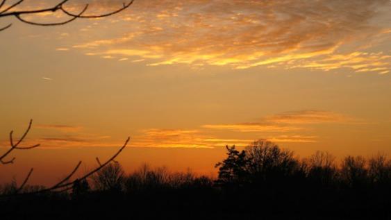 Sonnenuntergang -- Ontario Kanada