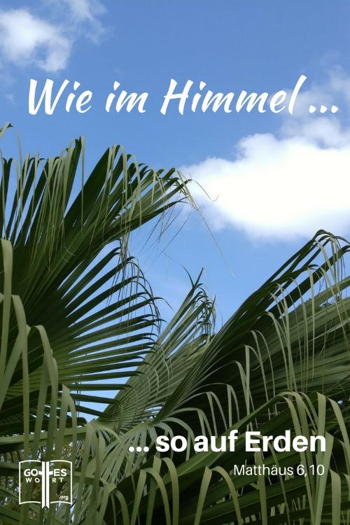 Ja, der Herr spricht! Matthäus 6,10  Lese http://www.gottes-wort.com/spricht.html