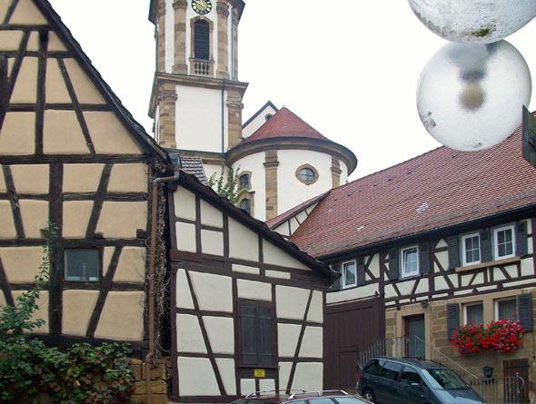 Stadtmitte - Erlenbach, Baden-Württemberg
