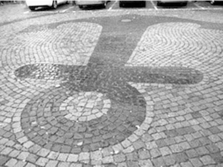 Strassenpflaster Insel Lindau