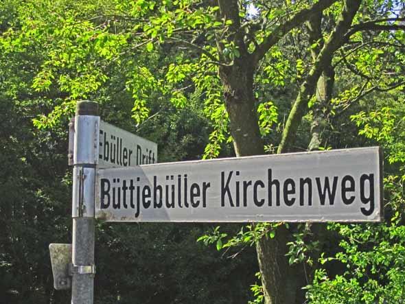 Wegweiser - Ebüll, Schleswig