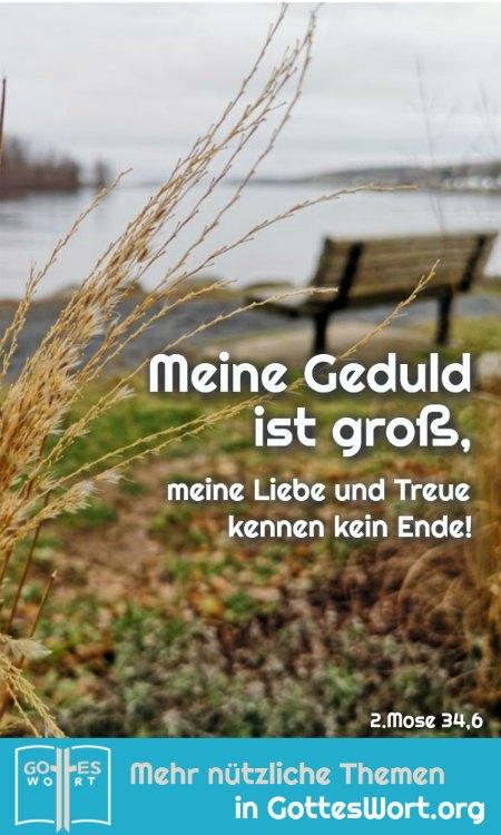 ✚ Meine Geduld ist groß, meine Liebe und Treue kennen kein Ende! 2.Mose 34,6 https://www.gottes-wort.com/einmalig.html #einmalig #liebe #gotteswort #treue