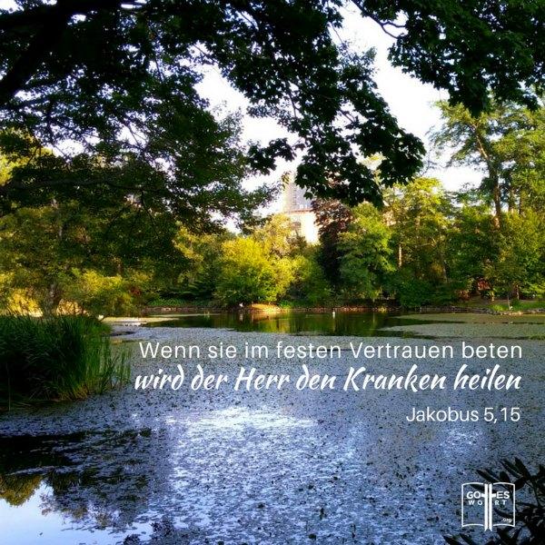Jakobus 5,15 ... im Namen Jesus! Ist Reik im Namen Jesus? Lese: https://www.gottes-wort.com/reiki.html