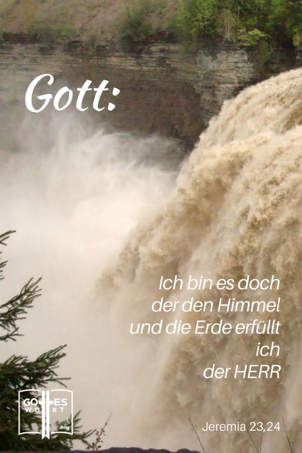 Unendlichkeit Gottes ...Jeremia 23,24 Wasserfall, Letchworth, NY USA